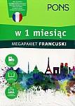 Francuski w 1 miesiąc Megapakiet Książka+CD