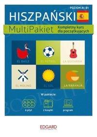 Hiszpański MultiPakiet(poziom A1-B1) Książka+CD
