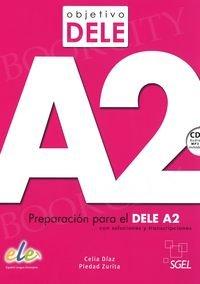 Objetivo DELE A2 Książka + CD