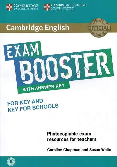 Cambridge English Exam Booster for Key and Key for Schools Book  with Answer Key with Audio