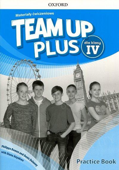 Team Up Plus klasa 4 Materiały ćwiczeniowe z kodem dostępu do Online Practice