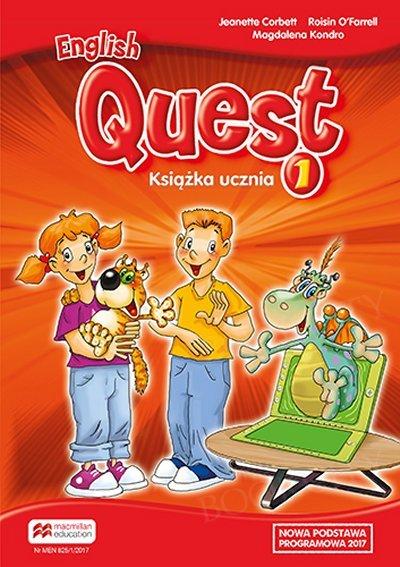 English Quest 1 (reforma 2017) Książka ucznia