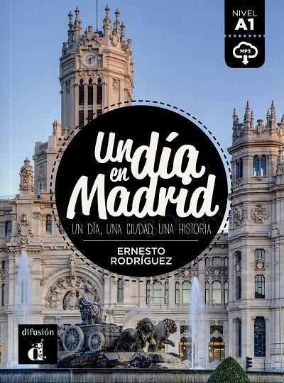 Un dia en Madrid Książka + audio mp3