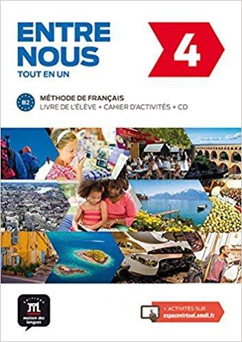 Entre nous 4 Podręcznik z ćwiczeniami + CD