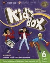Kid's Box 6 (Updated 2nd Ed) Pupil's Book
