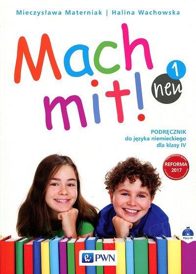 Mach mit! neu 1 Podręcznik do języka niemieckiego dla klasy 4