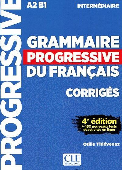 Grammaire progressive Niveau Intermédiaire 4e édition Klucz