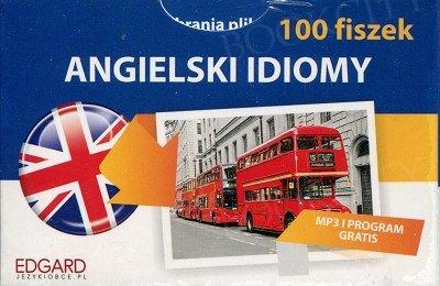 Angielski 100 fiszek Idiomy Fiszki + mp3 online