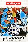 Karty do gry Waddingtons DC Superheroes Retro wersja angielska
