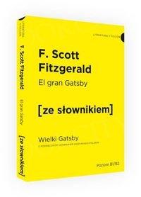 Wielki Gatsby wersja hiszpańska z podręcznym słownikiem