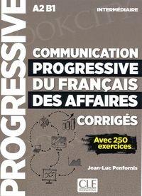 Communication progressive du francais des Affaires Intermédiaire Klucz