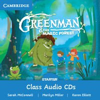 Greenman and the Magic Forest Starter Class Audio CDs (2)