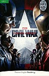 Marvel's Captain America: Civil War Book plus mp3 CD