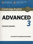 Cambridge English Advanced 3 CAE (2018) Student's Book without answers