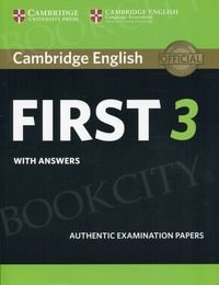 Cambridge English First 3 FCE (2018) Student's Book with answers