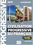 Civilisation progressive du francais intermediaire Książka + CD