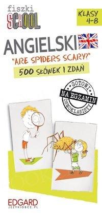 Fiszki SCHOOL Are spiders scary? 500 słówek i zdań