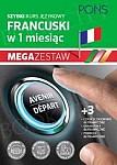 Szybki kurs Francuski w 1 miesiąc Mega Zestaw: Kurs + tablice: czasy i czasowniki, gramatyka, podróże