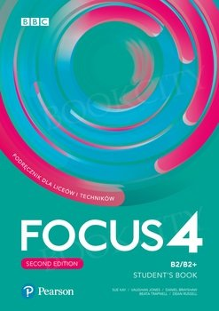 Focus 4 Second Edition Student's Book + Digital Resources