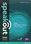 Speakout Starter (2nd edition) Student's Book Flexi 2 with MyEnglishLab