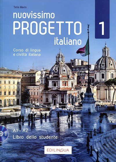 Nuovissimo Progetto italiano 1 Podręcznik + DVD