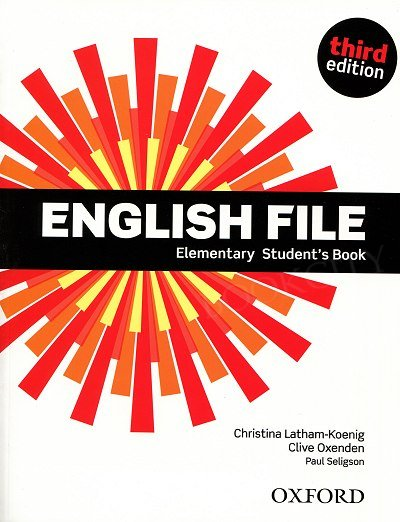 English File Elementary (3rd Edition) (2012) podręcznik