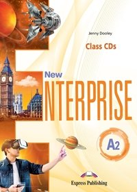 New Enterprise A2 Class Audio CDs (set of 3)
