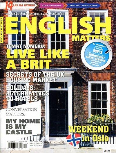 English Matters - Magazyn dla uczących się języka angielskiego numer 81 - marzec-kwiecień 2020