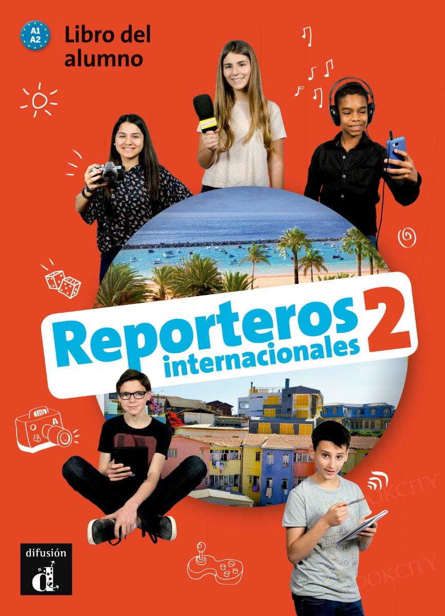 Reporteros internacionales 2 Podręcznik + CD mp3