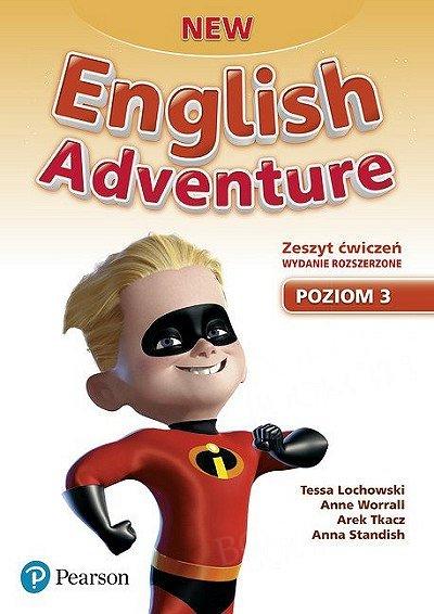 New English Adventure 3 Zeszyt ćwiczeń wydanie rozszerzone plus DVD