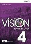 Vision 4 Przewodnik dla nauczyciela z dostępem do Teacher's Resource Centre, Classroom Presentation Tool i Online Practice