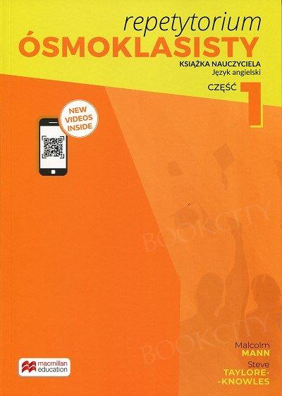 Repetytorium Ósmoklasisty dla klasy 7 część 1 książka nauczyciela