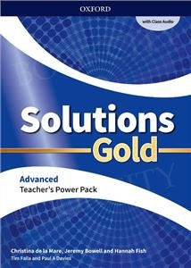 Solutions Gold Advanced Teacher's Guide PACK