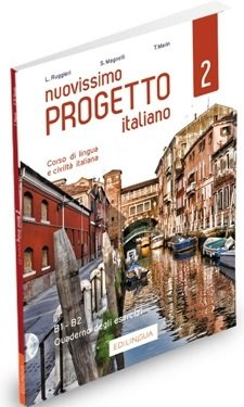 Nuovissimo Progetto italiano 2 Ćwiczenia + CD