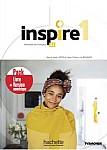 Inspire 1 Podręcznik + DVD-Rom + Parcours digital + kod (podręcznik online