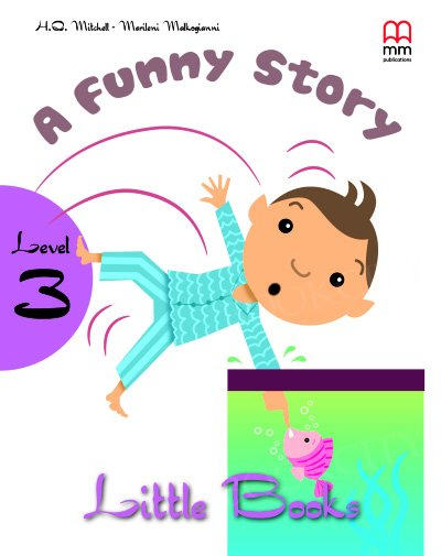 A funny story Book with CD
