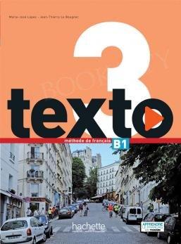 Texto 3 (szkoły ponadpodstawowe) Podręcznik + Audio Online + kod (podręcznik online)