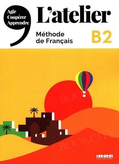 L'atelier 4 Podręcznik + DVD-ROM