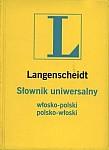 Słownik uniwersalny włosko-polski, polsko-włoski opr. PCV (wersja kieszonkowa)