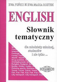 ENGLISH. Słownik tematyczny ENGLISH. Słownik tematyczny