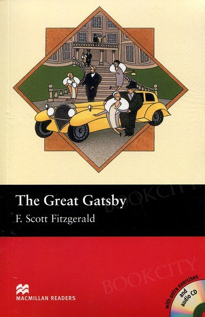 The Great Gatsby Book and CD