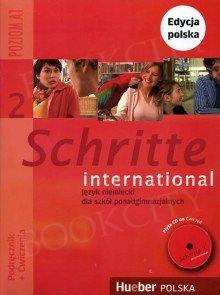 Schritte international 2 Kurs und Arbeitsbuch mit CD zum AB PL und Zeszyt ucznia XXL