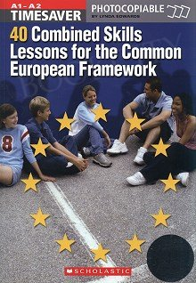40 Combined Skills Lessons for the CEF + audio CD