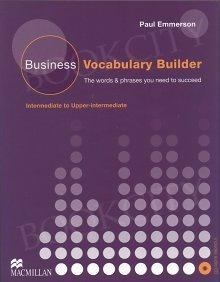 Business Vocabulary Builder Pack (Intermediate to Upper-Intermediate)