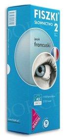 Fiszki francuskie. Słownictwo 2 Fiszki + program + mp3 online