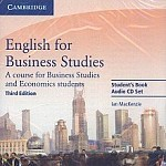 English for Business Studies, Third edition Audio CDs (2)