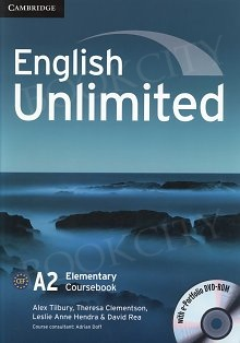 English Unlimited A2 Elementary Coursebook with e-Portfolio