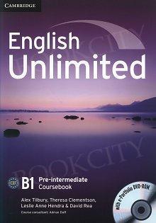 English Unlimited B1 Pre-intermediate Coursebook with e-Portfolio