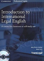 Introduction to International Legal English podręcznik