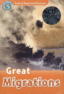Great Migrations Book with Audio CD